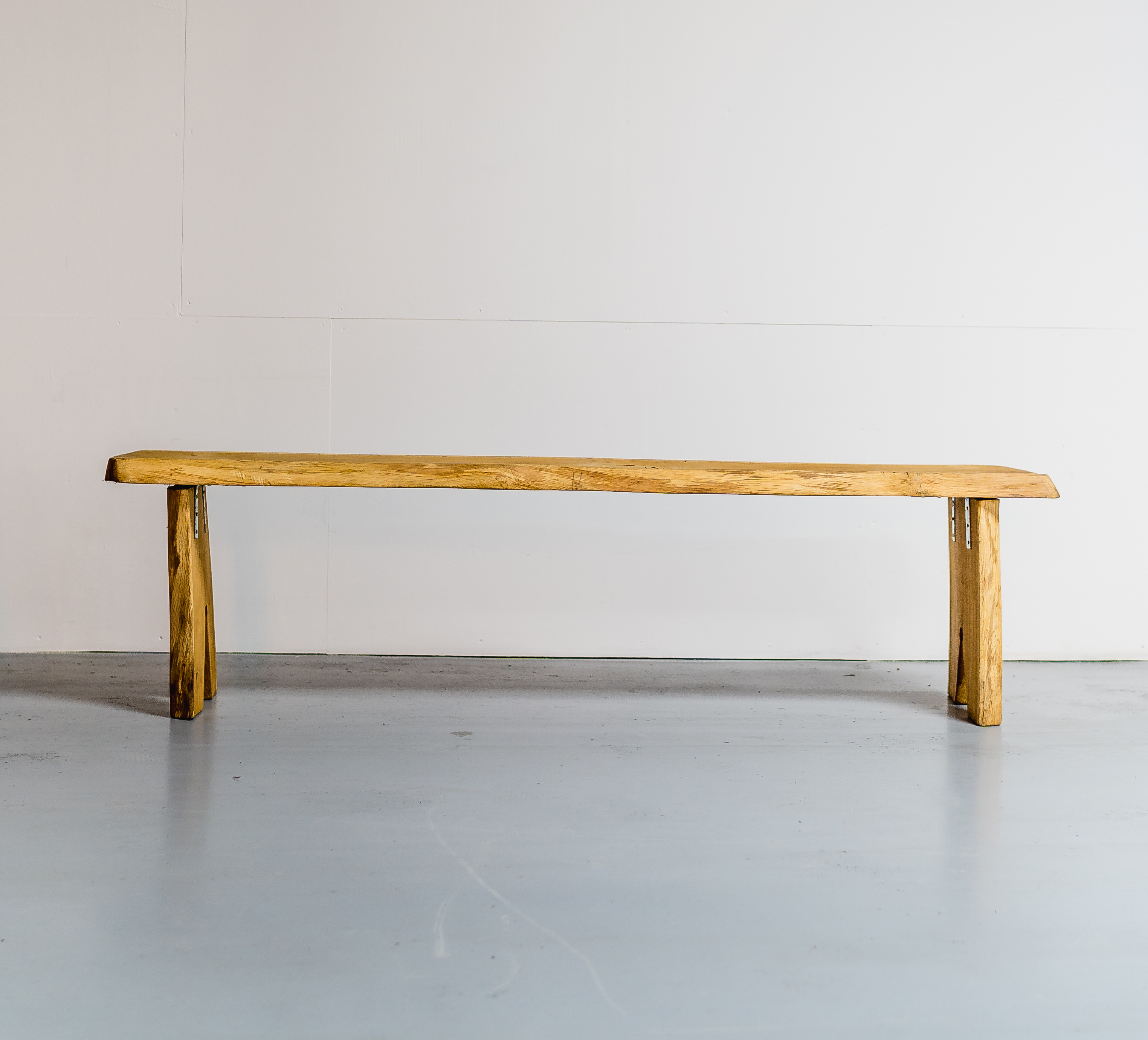 6ft Oak Live Edge Wooden Bench £150