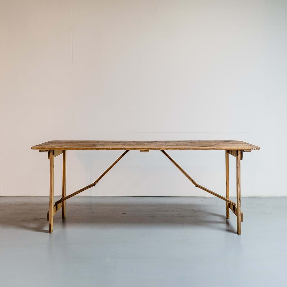 The Crawford Trestle Table
