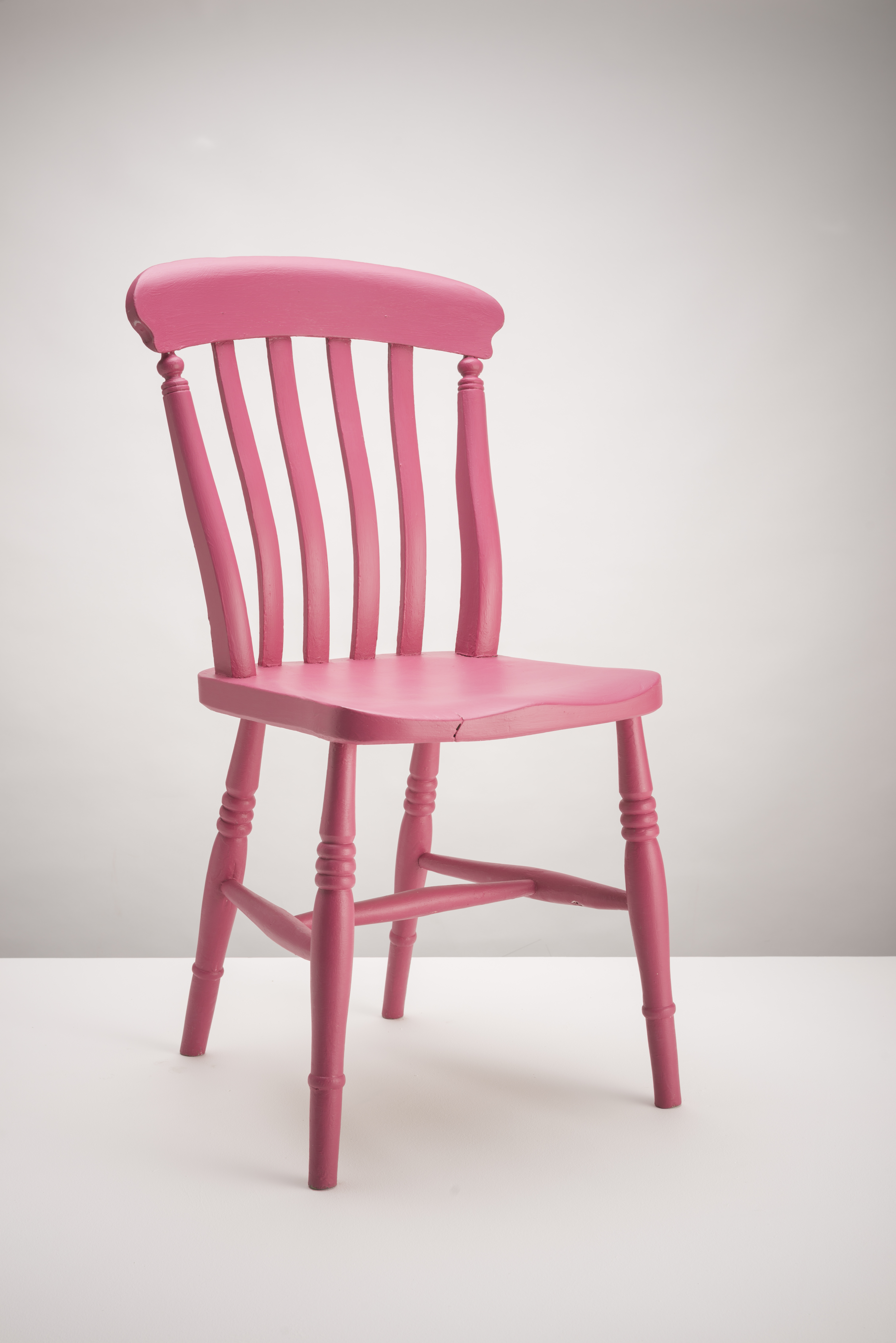 Example of Pink Hand painted Chair